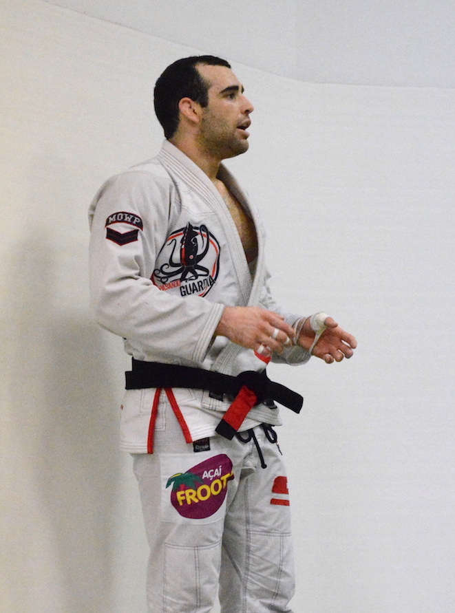 Instructor Brian Morizi